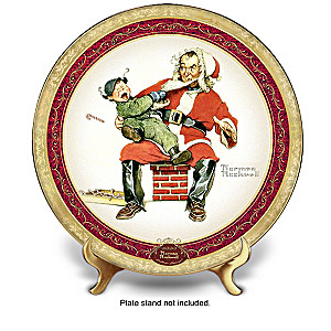 """Norman Rockwell """"Christmas Memories"""" Annual Plate Collection"""