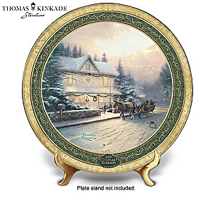 Thomas Kinkade Annual Christmas Collector Plate Collection