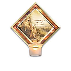 Greg Olsen Illuminated Votive Candleholder Collection