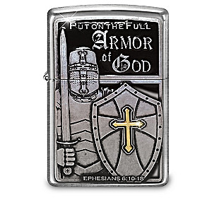 """""""Armor Of God"""" Zippo® Lighter Collection"""