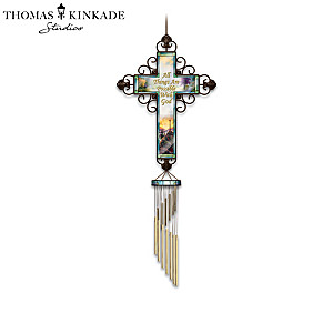 Thomas Kinkade Wind Chime Collection With Bible Passages