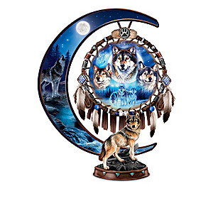 Al Agnew Glow-In-The Dark Crescent Moon Sculpture Collection