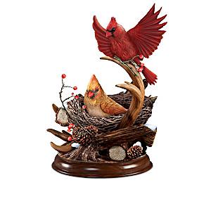 Nature's Masterpieces Songbird Sculpture Collection