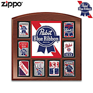 Pabst Blue Ribbon® Zippo® Collection With Display