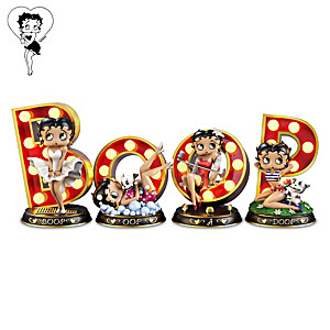 Betty Boop Illuminated Marquee Letter Sculpture Collection