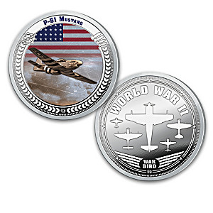 The Greatest WWII Fighter Planes Proof Coin Collection