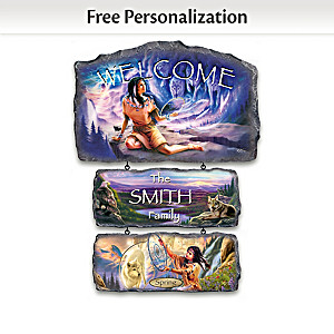 Robin Koni Personalized Seasonal Welcome Sign Collection
