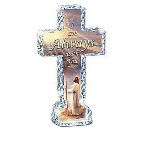 "Greg Olsen ""Messages Of Faith"" Crystalline Cross Collection"