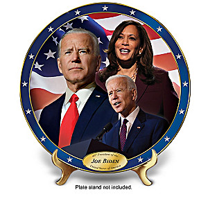 President Biden 2020 Election Porcelain Collector Plates