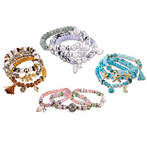 Stretch Bracelets For Each Season & Luxury Collector's Case