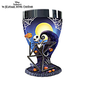 The Nightmare Before Christmas Sculptural Goblets