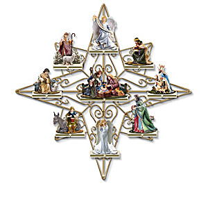 """""""Blessed Nativity"""" Limoge-Style Box Collection With Display"""