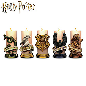 HARRY POTTER HOGWARTS House Flameless Candle Collection