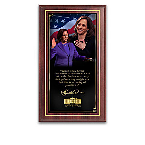 "Kamala Harris ""Reshaping History"" Wall Decor Collection"