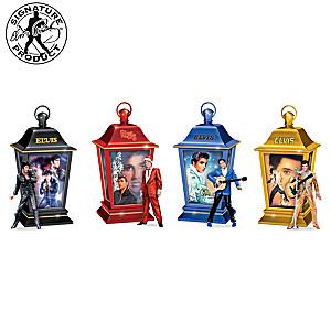 """""""Elvis Through The Years"""" Illuminated Lantern Collection"""