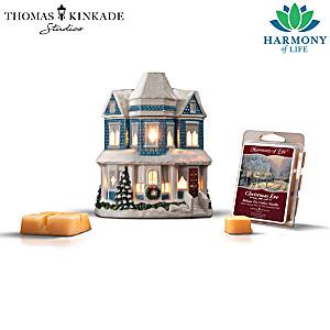 Thomas Kinkade Aromatherapy Wax Warmer Sculpture Collection