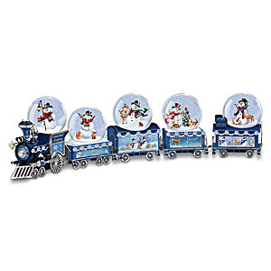 Dona Gelsinger Snowball Express Musical Snowglobe Collection
