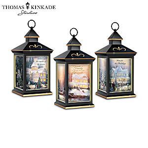 Thomas Kinkade Solar-Powered Lantern Collection