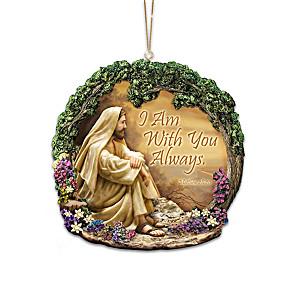 Greg Olsen Illuminated Talking Ornament Collection