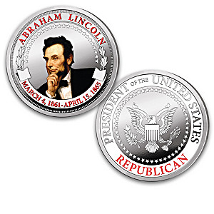Complete Republican Presidents Proof Collection With Display