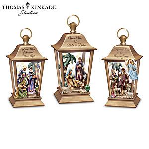 Thomas Kinkade Lights Of Faith Lantern Collection