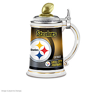 A Legacy Of Greatness: Pittsburgh Steelers Stein Collection