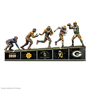 Green Bay Packers: A Legacy Of Strength Sculpture Collection