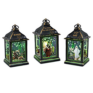 Halloween Sights And Spooky Lights Lantern Collection