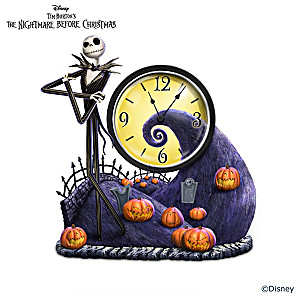 The Nightmare Before Christmas Clock Collection