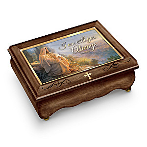 """Greg Olsen """"Visions Of Faith"""" Wooden Music Box Collection"""