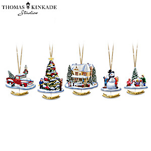 The Merriest Of Holiday Moments Ornament Collection