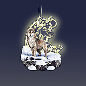 """""""Guardians Of The Wild"""" Color-Changing Ornament Collection"""