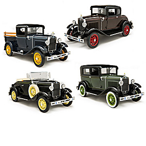 1:18-Scale 1931 Ford Caravan Model A Diecast Car Collection