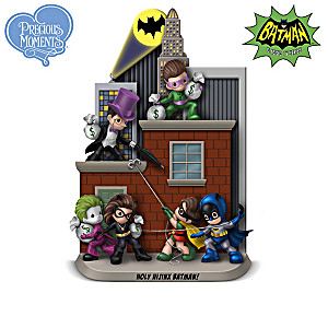 BATMAN Figurine Collection With GOTHAM CITY Display