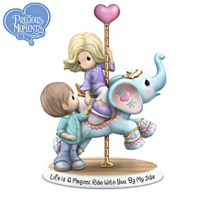 Precious Moments Carousel Of Love Figurine Collection