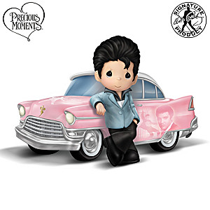 Precious Moments Cruisin' With The King Figurine Collection