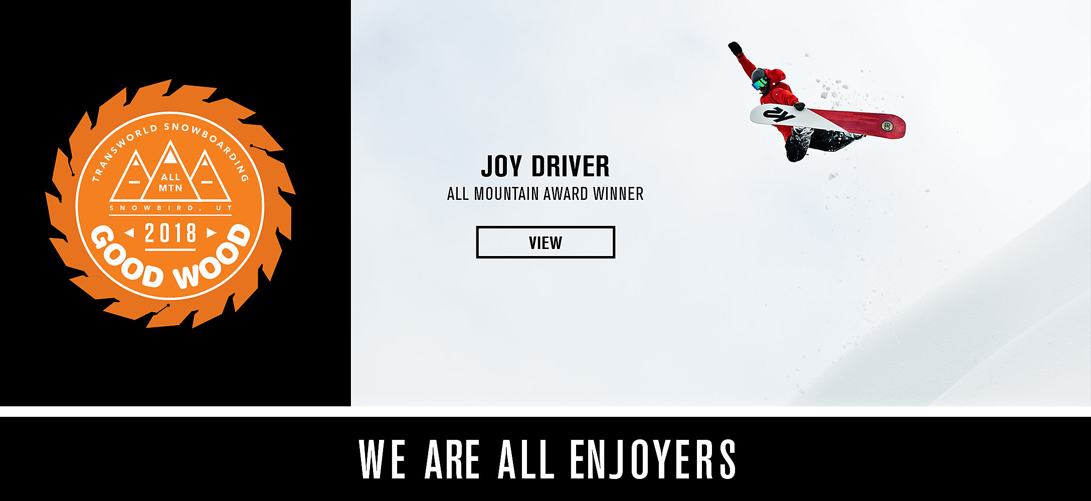 Award-Winning Joy Driver