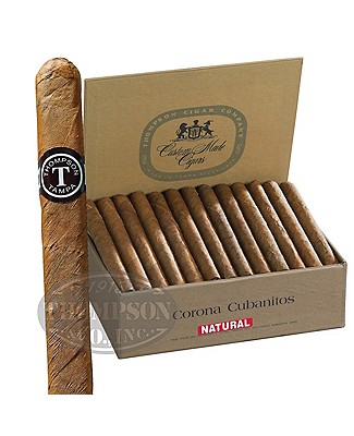 Thompson Dominican Corona Cubanitos Natural Lonsdale
