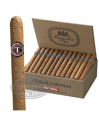 Thompson Dominican Cuban Coronas Natural Lonsdale