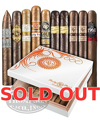Rocky Patel Ten Sampler With Humidor