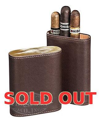 Cohiba Three Pack In Horn Case