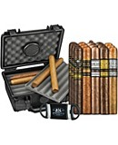PDR 15 Cigars With Case And Cutter Sampler
