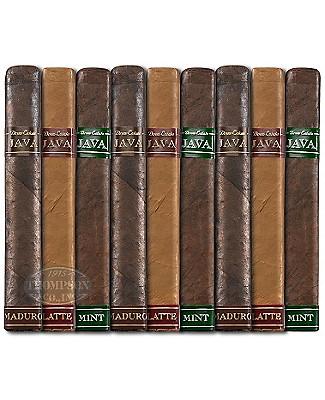Java By Drew Estate 9 Cigar Sampler Robusto Infused