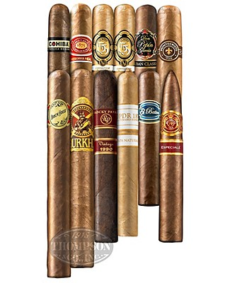 The Weekender 12 Cigar Sampler