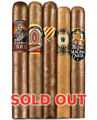 Five Pack Madness XXVii Cigar Sampler