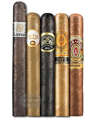 5 Cigar Selection I 2017 Sampler