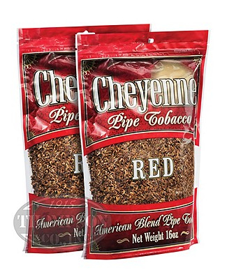 Cheyenne Red Pipe Tobacco 16oz 2-Fer