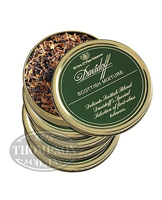 Davidoff Pipe Tobacco Scottish Mix 5 Tins Scotch Whiskey