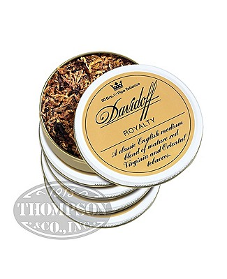 Davidoff Pipe Tobacco Royalty 5 Tins Spicy