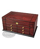 Rosewood Humidor With Accessory Drawer